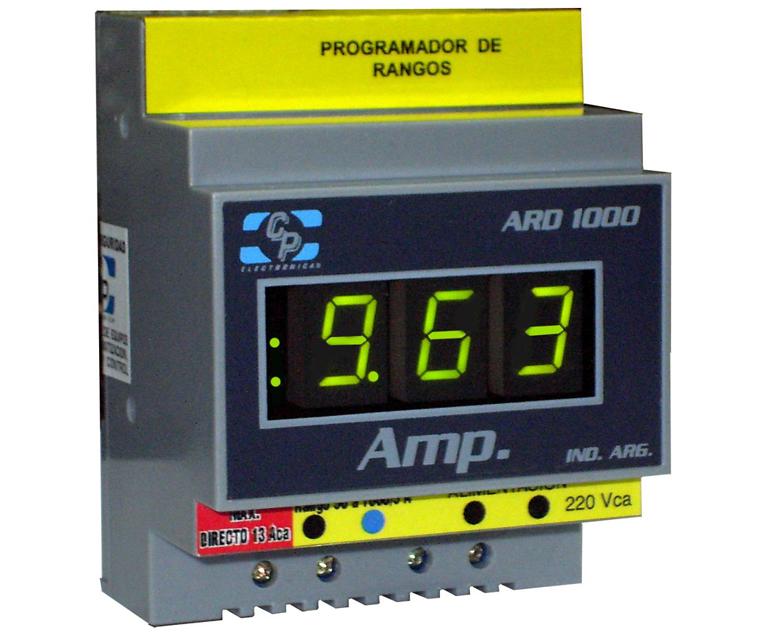 amperimetre digital