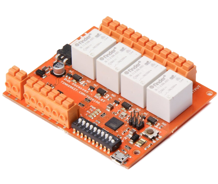 Tinkerit dmx receiver