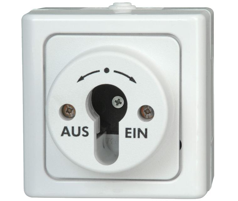 interruptor amb clau