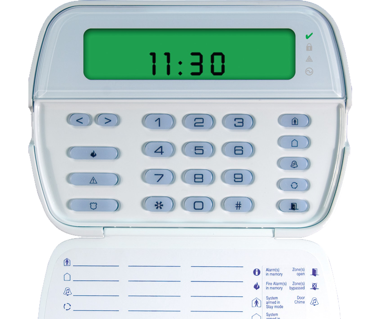 teclat amb alarma